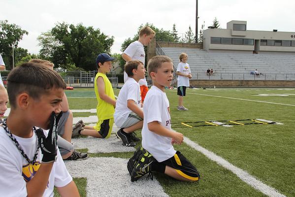 2013 Pointer Pups Football Camp